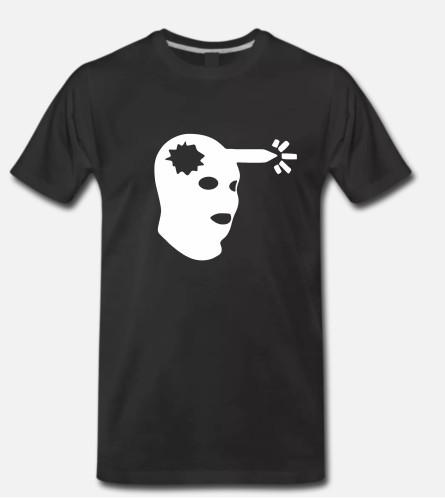 Marškinėliai Headshot