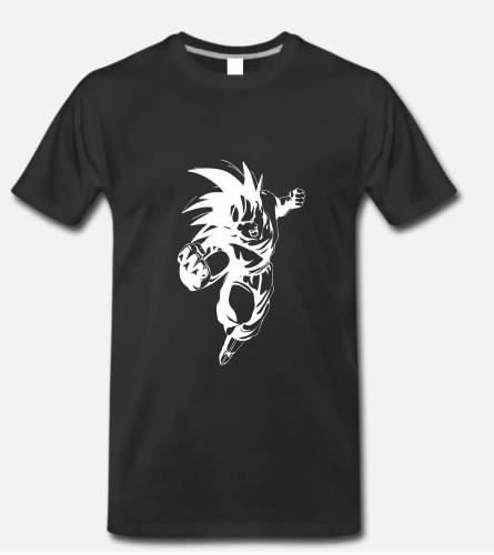 Marškinėliai Goku Drakonų kova